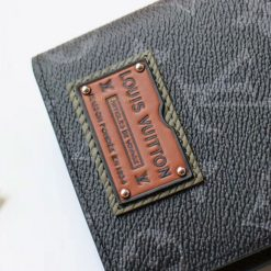Tem da mặt ngoài ví dài LV nam 3051