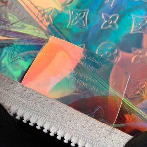 tem da phía trong túi xách du lịch 8023