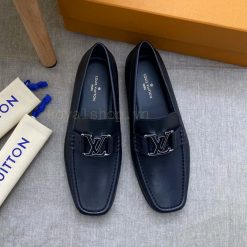 Giày Louis Vuitton nam màu đen siêu cấp 8138