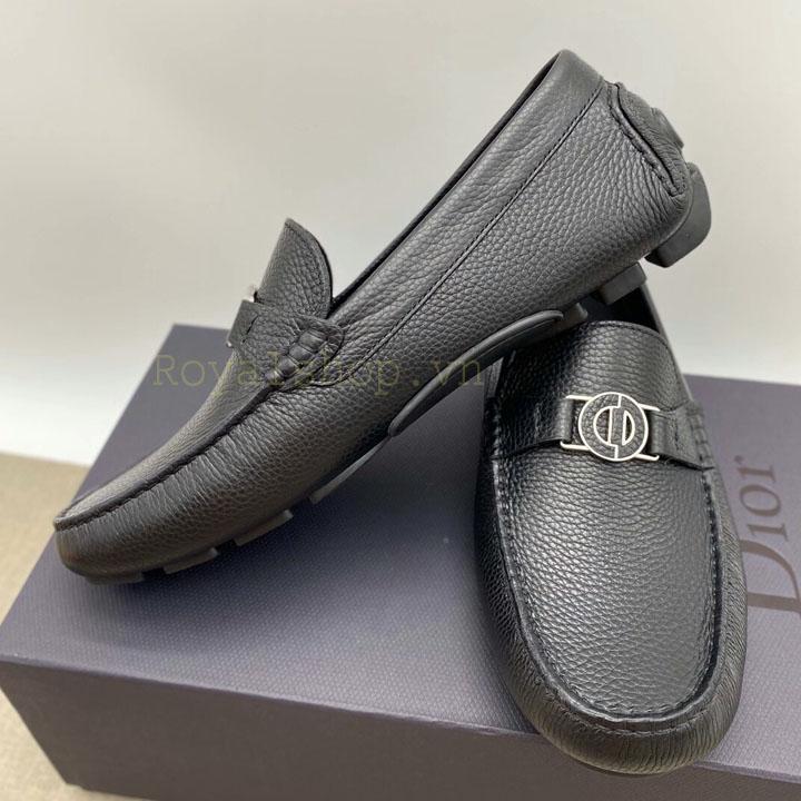 Giày nam Dior màu đen siêu cấp DIGN884