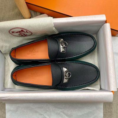 Royalshop.vn - Địa chỉ mua giày lười nam Hermes siêu cấp tại Hà Nội