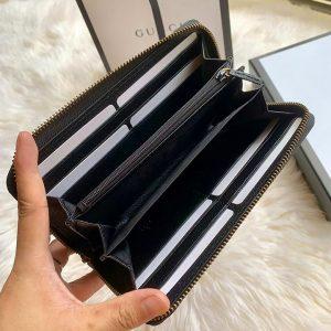 Chi tiết bên trong ví dài Gucci cầm tay siêu cấp GCTN8074