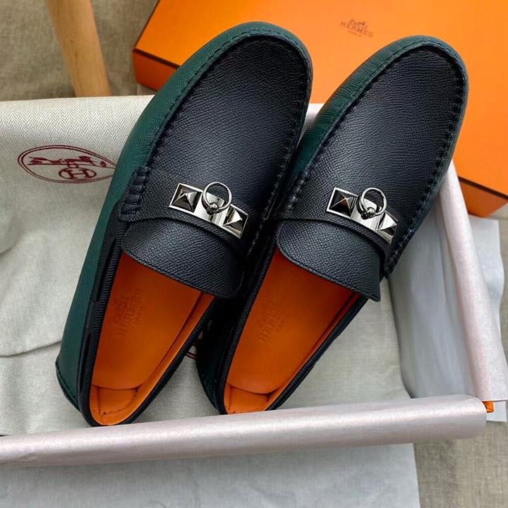 Giày lười nam Hermes siêu cấp mới 2021