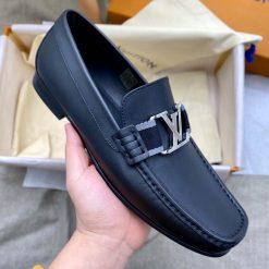 Trên tay giày nam đế cao LV siêu cấp LVGN8831