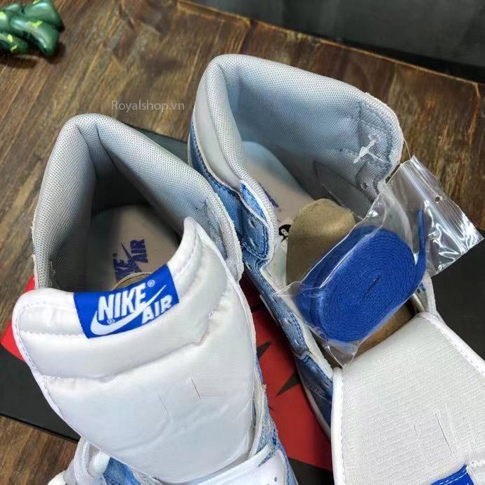 Chi tiết bên trong giày Nike siêu cấp