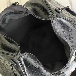 Chi tiết bên trong túi du lịch LV nam TDL8035