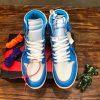 Giày nam nữ Joran màu xanh siêu cấp JDGN7003
