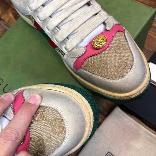 Mũi giày sneaker Gucci nam nữ
