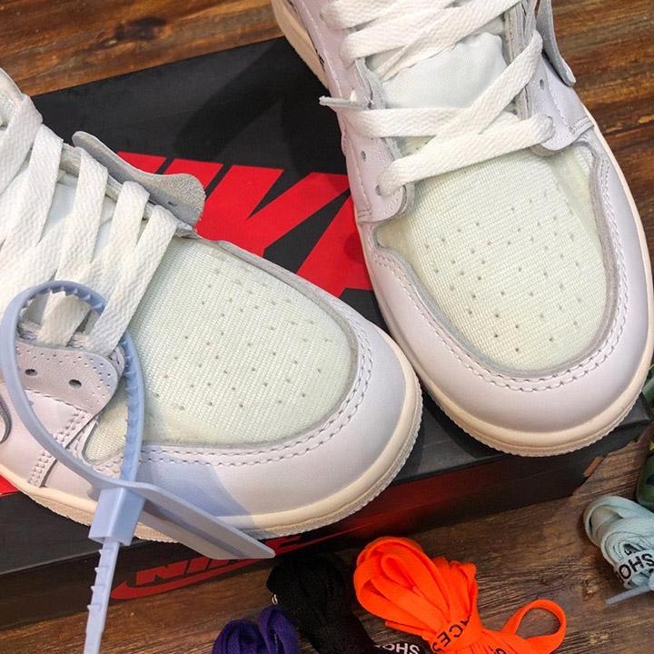Phần mũi giày nam được làm tinh xảo