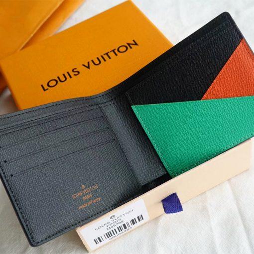 Phía bên trong ví ngắn LV nam VN6019
