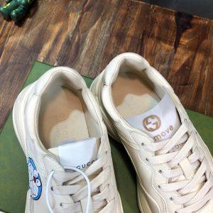 Chi tiết bên trong giày nam nữ Gucci siêu cấp
